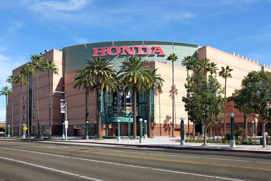 The Honda Center In Anaheim