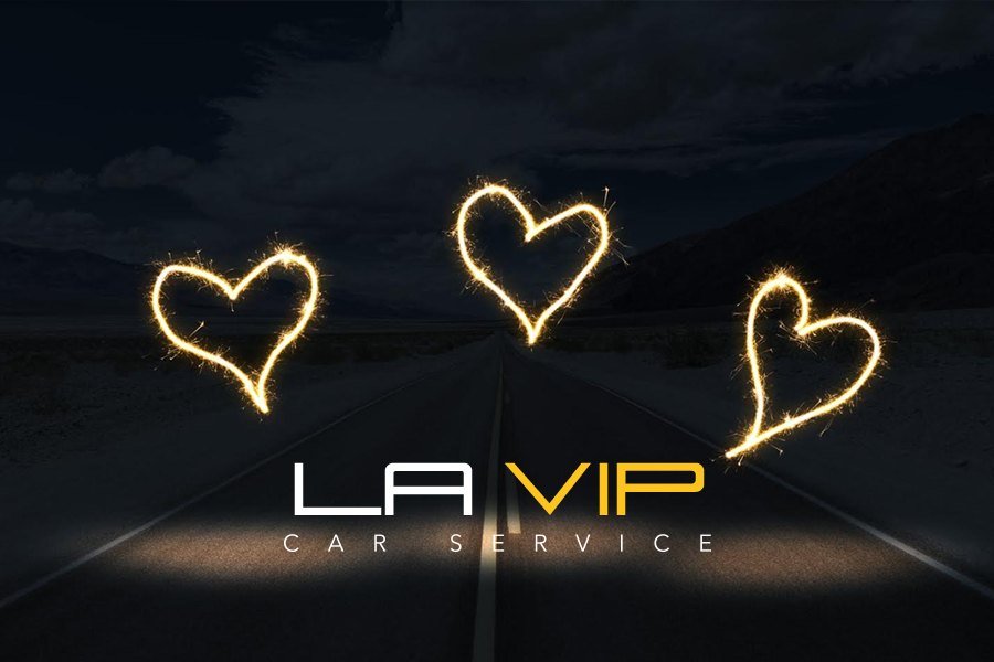 Ride and arrive in style by the best luxury car in LA in the month of love